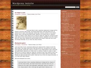 PPad 1.0 - 2 column widget enabled wordpress theme