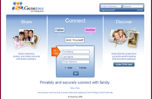 Genetree.com – Build the ULTIMATE Family Tree with your DNA