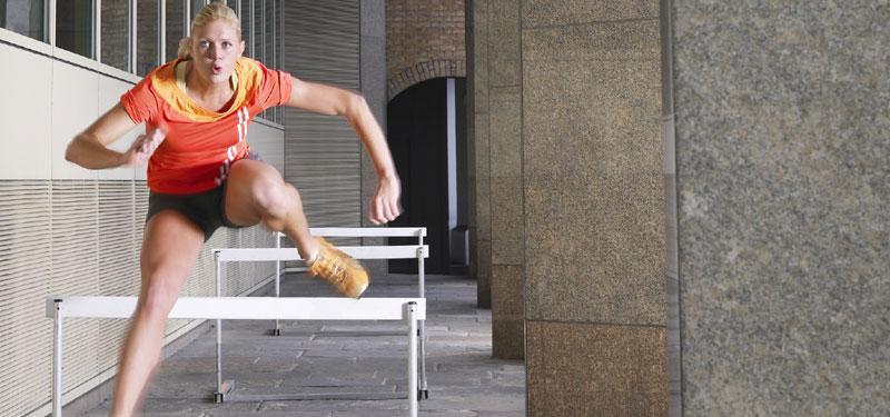 overcome hurdles life
