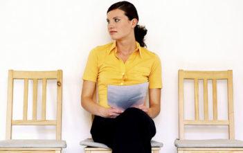 Interview Women Waiting Resume